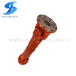 WS/WSD Transmission Shaft for Heavy Machinery